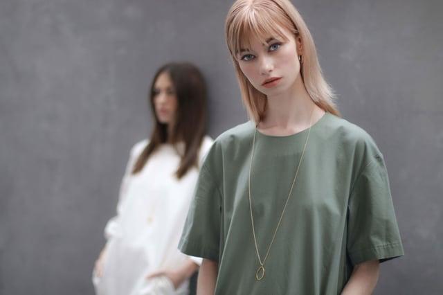 Necklace, Fashion, Jewellery, Accessories, Minimal, Minimalism,